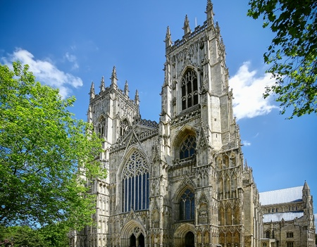 north yorkshire: York Cathedral UK Stock Photo