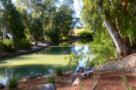 Jordan river the place of Jesus