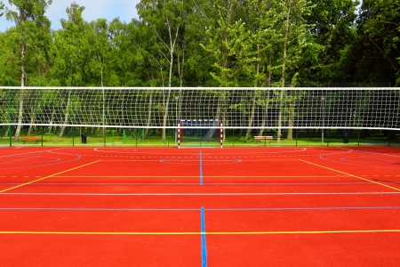 volleyball serve: Summer activity