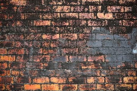 Brick old wall texture photo