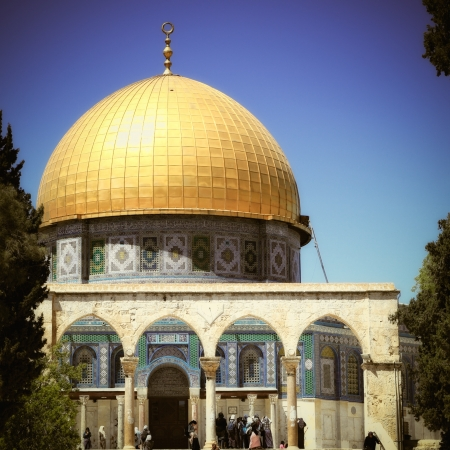 muhammed: Dome of the Rock in Jerusalem
