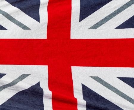 British flag beach towel photo