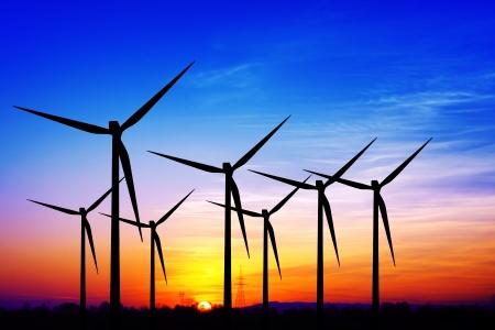 calentamiento global: Molinos de viento