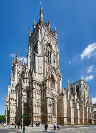infamous: York Cathedral UK Stock Photo