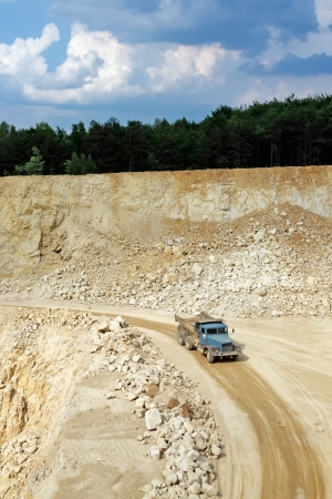 stone work: Transport in the mining industry