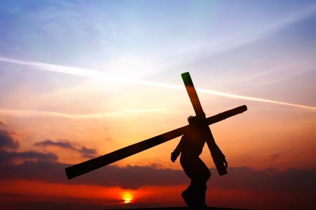 holy week: The Crucifixion Stock Photo
