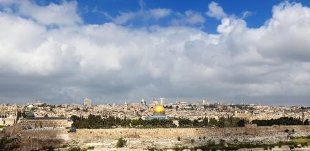 Jeruzalem Stockfoto
