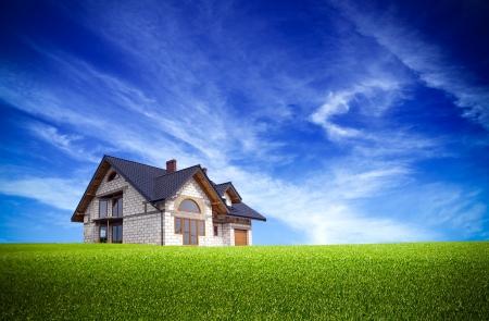 自然の家 写真素材