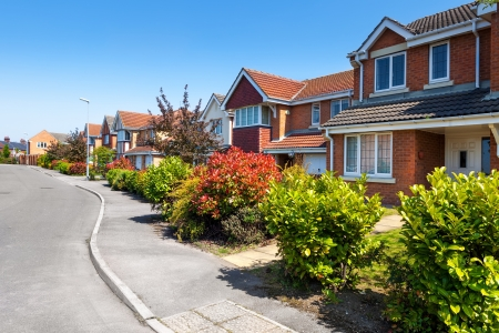 housing estate: Typical English Street