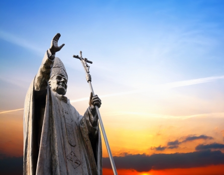 beatification: The direction of truth and life Stock Photo