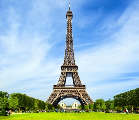 Eiffel Tower - Paris 版權商用圖片