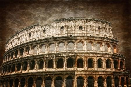 Antiguo Coliseo romano Foto de archivo - 18338665