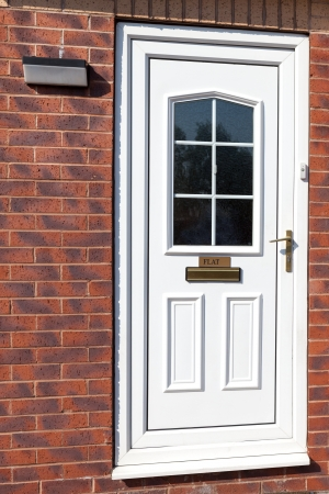 english oak: Traditional front doors