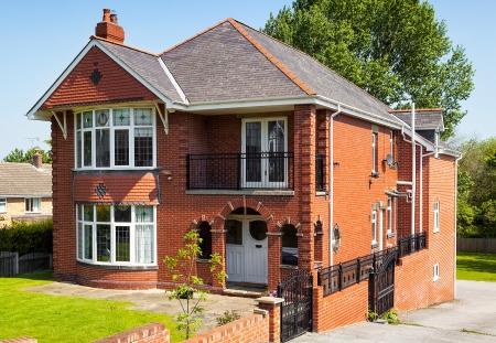 Engels huis met tuin