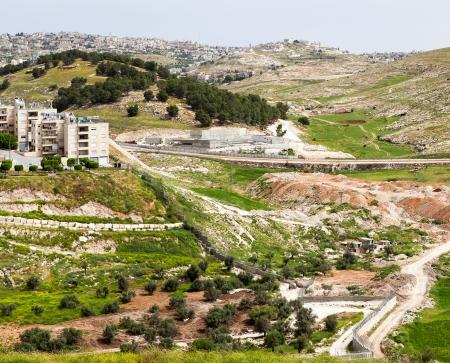 palestinian: Bethlehem in the Holy Land Stock Photo