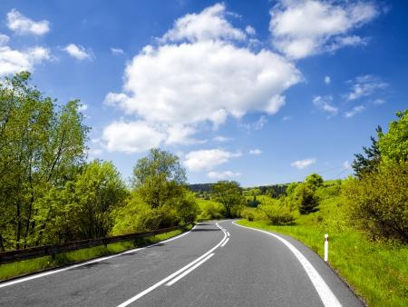 Summer road Banque d'images