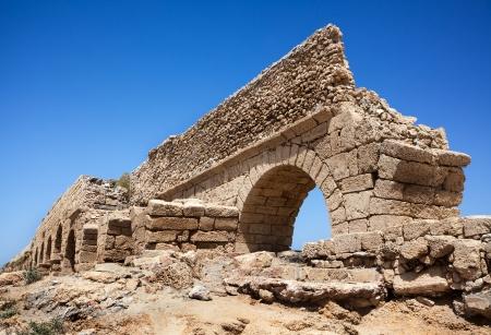 caesarea: Aqueduct of Caesarea