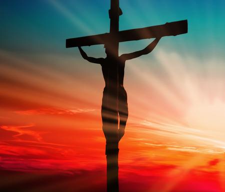 Jezus: Ofiara Krwi Jezusa Zdjęcie Seryjne