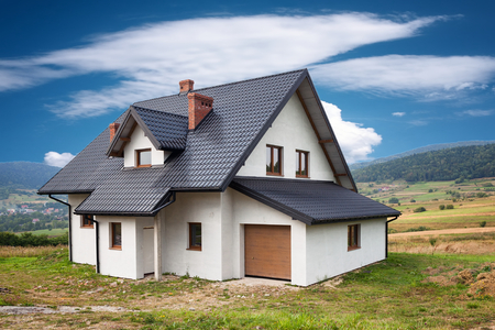 New family house in the mountains