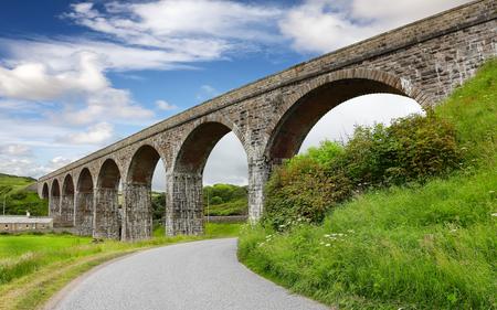 moray: Railway Viaduct in Cullen Scotland