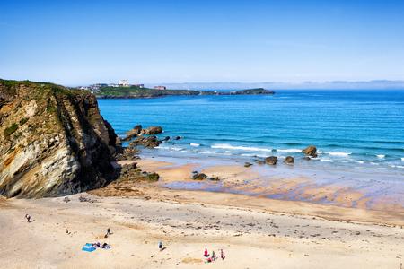 cornwall: Newquay beach North Cornwall