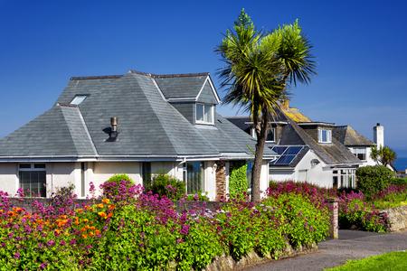 annuities: A perfect neighborhood Stock Photo