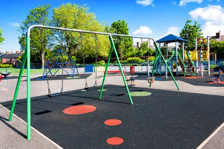 Children playground Banque d'images