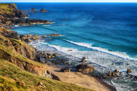 Cornwall coast Stock Photo