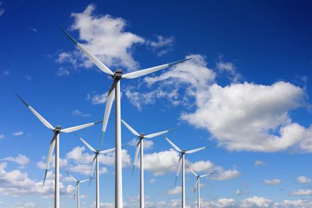 Stoccaggio di energia dalle turbine eoliche