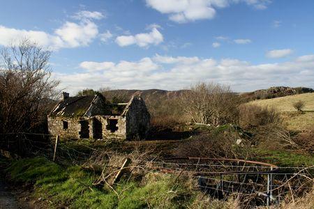 Abandoned Croft,Ireland Stock Photo - 318666