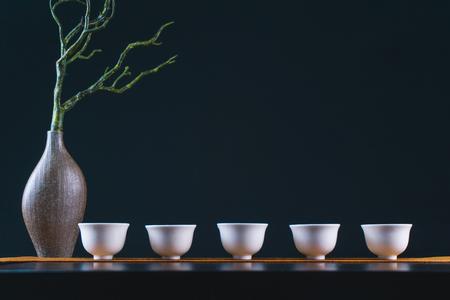 Traditional Chinese tea ceremony Banco de Imagens