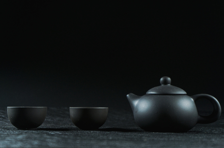 Traditional Chinese tea ceremony Stock Photo