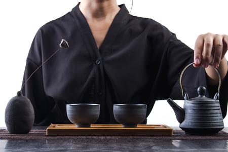 Kung Fu Tea ceremony Stock fotó