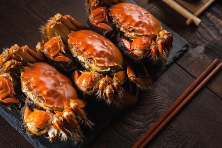 Fat river crabs
