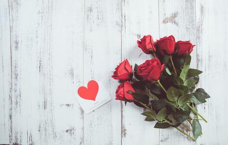 Rose stalks on white background