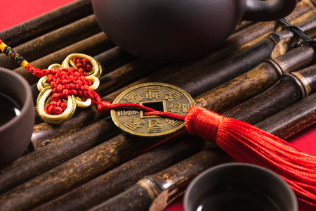 Tea ceremony and Chinese Red