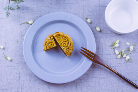 Chinese traditional gourmet moon cakes