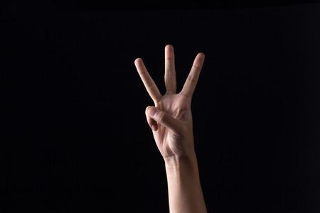 Digital three gestures