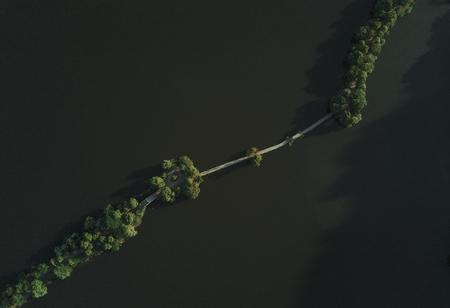Xianghu Park aerial photograph