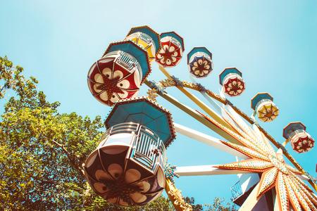 A Ferris wheel in an amusement park Reklamní fotografie
