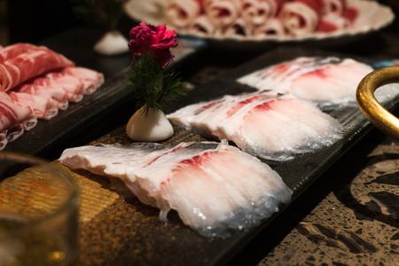 Hot pot fish fillet