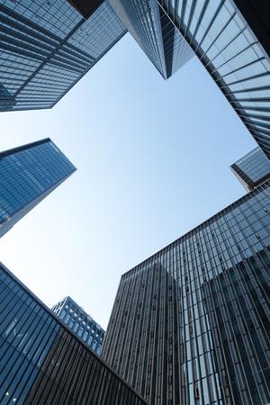 Modern city panorama Editorial