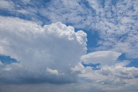 Sky cloud material