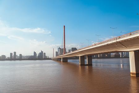 Qian Tang River and Bridge