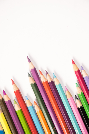 Color pencil arrangement Stock Photo - 95980121