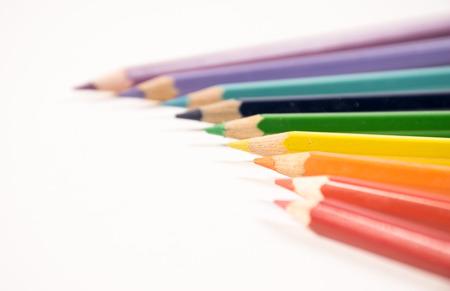 Color pencil arrangement