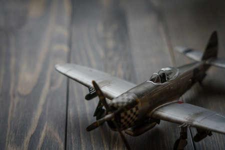Plastic model WW2 plane