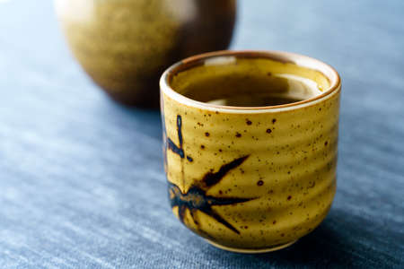 Japanese hot liquor 'Sake'. Sake is a Japanese national liquor