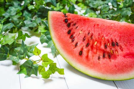 Fresh and delicious watermelon Archivio Fotografico