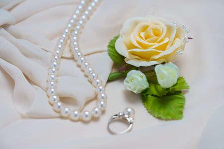 Pearls and corsages Foto de archivo